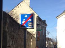 signalisation de police