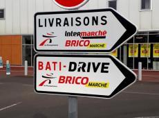 Réalisation des visuels et panneaux pour le Intermarché de Pocé-sur-Cisse (37).