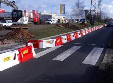Déviations et Balisage d'un chantier à Saint Cyr sur Loire