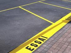 Marquage au sol pour Opel St-Cyr